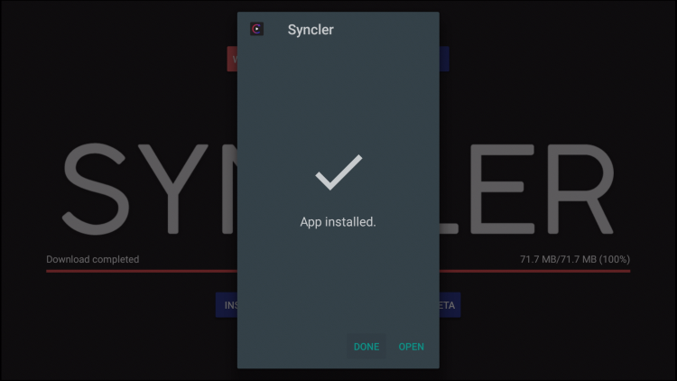 INSTALL SYNCLER ON PC