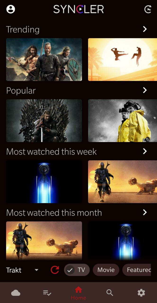LATEST MOVIES IN SYNCLER IOS