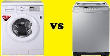 Front and Top load Washing Machine
